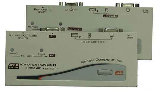 Удлинитель KVM Rextron EXC-3022: SECURECAM
